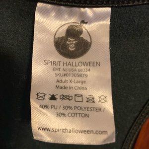 Front zip corset. Steampunk